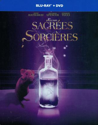 Sacrées Sorcières (2020) (Édition Limitée, Steelbook, Blu-ray + DVD)