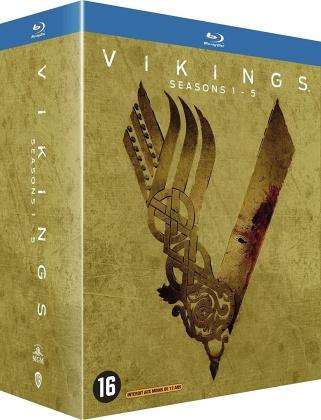 Vikings - Saisons 1-5 (21 Blu-rays)
