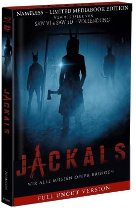 Jackals (2017) (Cover A, Limited Edition, Mediabook, Uncut, Blu-ray + DVD)