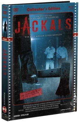 Jackals (2017) (Cover C, Limited Edition, Mediabook, Uncut, Blu-ray + DVD)