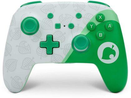 Switch Controller wireless NOOK POWER A offiziell lizenziert - Animal Crossing
