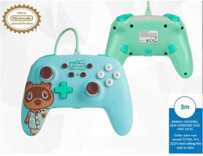 Switch Controller Tom Nook offiziell lizenziert POWER A - Animal Crossing