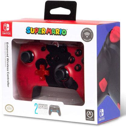 Switch Controller wireless Mario Silhoutte offiziell lizenziert POWER A