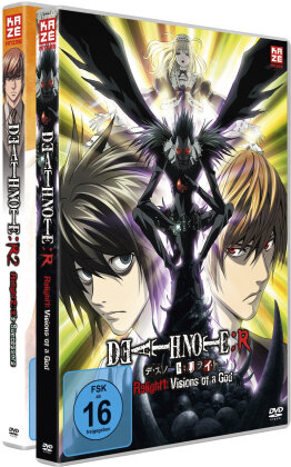 Death Note - Relight 1: Visions of a God / Relight 2: L's Successors (Bundle, 2 Blu-rays)