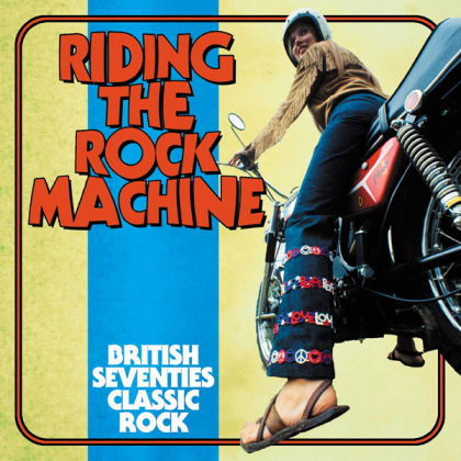 Riding The Rock Machine: British Seventies Classic Rock: 3CD Clamshell Boxset (3 CDs)