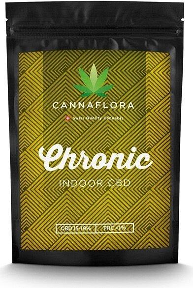 Cannaflora Chronic (6.5g) - (CBD: 14-18 %, THC: 0.6-0.8%)