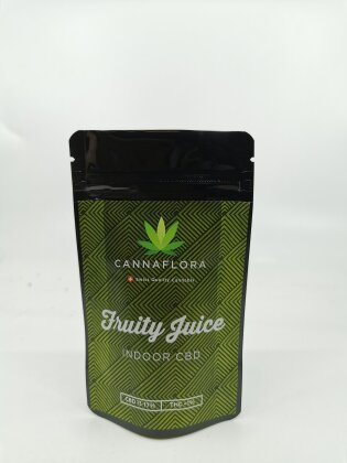 Cannaflora Fruity Juice (2.5g) - (CBD: 12-18 %, THC: 0.5-0.6%)