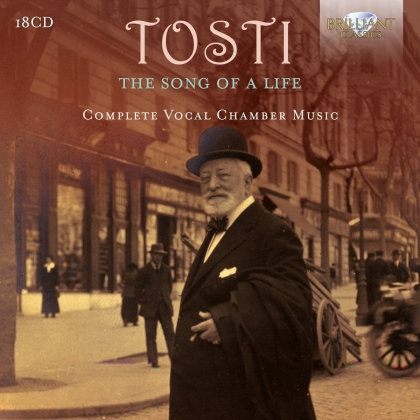 Francesco Paolo Tosti (1846-1916) - Song Of A Life (18 CDs)