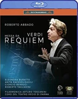 Filarmonica Arturo Toscanini, Roberto Abbado & Eleonora Buratto - Messa Da Requiem