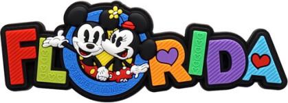 Disney Mickey & Minnie Florida Soft Touch Magnet