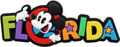 Disney Mickey Florida Soft Touch Pvc Magnet