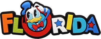 Disney Donald Florida Soft Touch Pvc Magnet