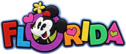 Disney Minnie Florida Soft Touch Pvc Magnet