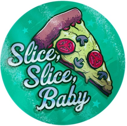 Slice, Slice Baby - Glass Chopping Board