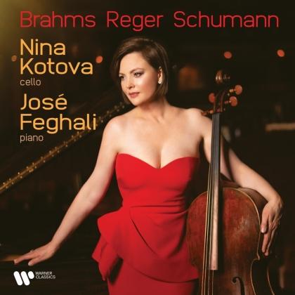 Nina Kotova, Jose Feghali, Johannes Brahms (1833-1897), Max Reger (1873-1916) & Robert Schumann (1810-1856) - Romantic Recital