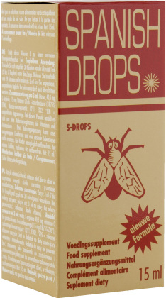 Spanish Fly Drops Gold 15ml