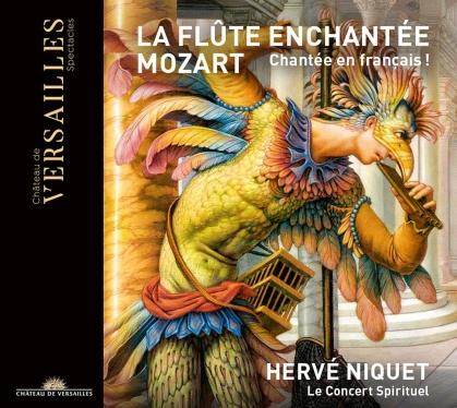 Le Concert Spirituel, Wolfgang Amadeus Mozart (1756-1791) & Hervé Niquet - La Flute Enchantee - Die Zauberflöte - Französisch