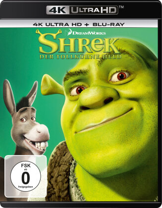 Shrek - Der tollkühne Held (2001) (4K Ultra HD + Blu-ray)