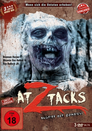 Z Attacks (Limited Edition, Uncut, 3 DVDs)