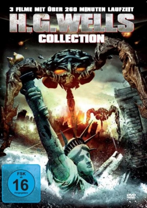 H.G. Wells Collection - 3 Filme
