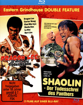 Dragon Lee - Im Auftrag der Todeskralle / Shaolin - Todesschrei des Panthers - Eastern Grindhouse Double Feature