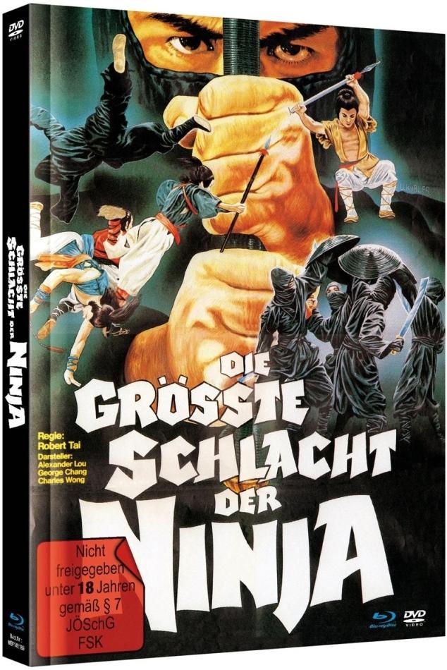 Die grösste Schlacht der Ninja (1983) (Limited Edition, Mediabook, Blu-ray + DVD)