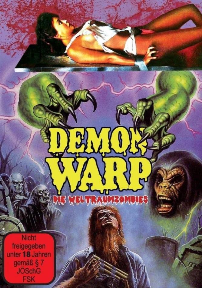Demon Warp - Die Weltraumzombies (1988) (Cover A, Edizione Limitata)