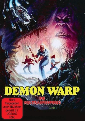 Demon Warp - Die Weltraumzombies (1988) (Cover B, Limited Edition)