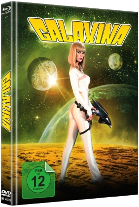 Galaxina (1980) (Cover A, Limited Edition, Mediabook, Blu-ray + DVD)