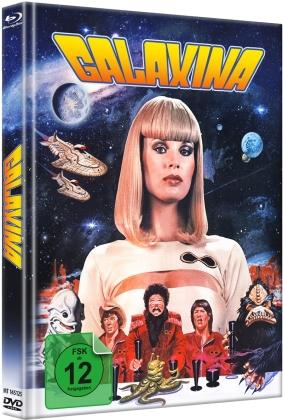 Galaxina (1980) (Cover B, Limited Edition, Mediabook, Blu-ray + DVD)