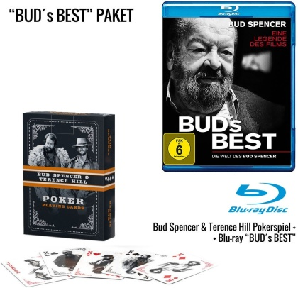 Bud's Best - Die Welt des Bud Spencer + Bud Spencer & Terence Hill Poker Spielkarten Western (Limited Edition)