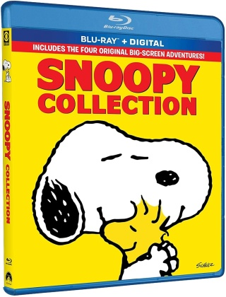 Snoopy Collection - 4 Movies (4 Blu-rays)