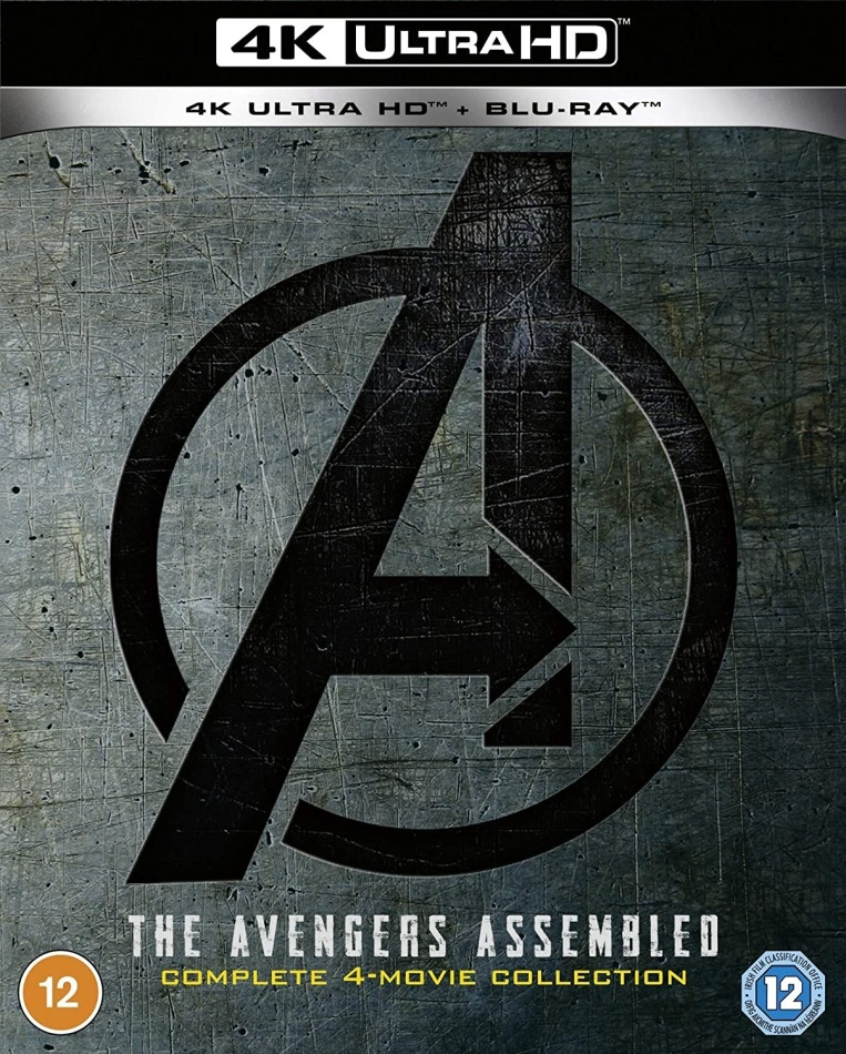 Avengers 1-4 - The Avengers Assembled (4 4K Ultra HDs + 4 Blu-rays)