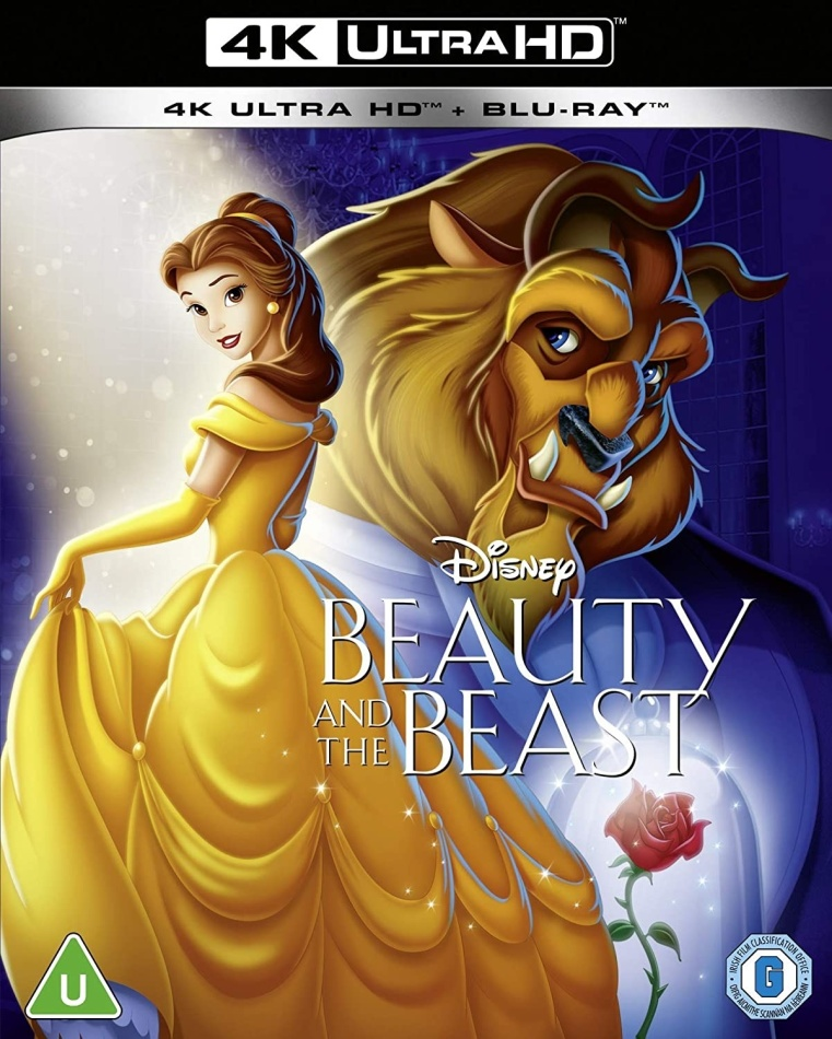 Beauty And The Beast (1991) (4K Ultra HD + Blu-ray)