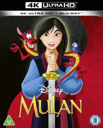 Mulan (1998) (4K Ultra HD + Blu-ray)