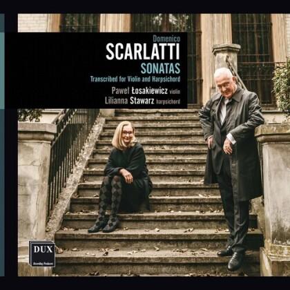Domenico Scarlatti (1685-1757), Pawel Losakiewicz & Lilianna Stawarz - Sonatas