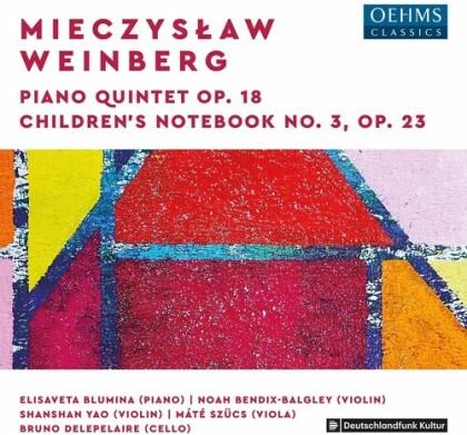 Noah Bendix-Balgley, Shanshan Yao, Mate Szücs, Bruno Delepelaire, Mieczyslaw Weinberg (1919-1996), … - Piano Quintet 18