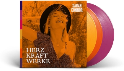Sarah Connor - Herz Kraft Werke (Signed, Deluxe Edition, Limited Edition, Colored, 3 LPs)