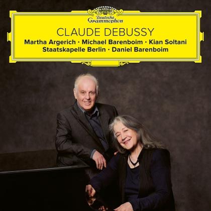 Michael Barenboim, Kian Soltani, Daniel Barenboim, Claude Debussy (1862-1918), Martha Argerich, … - DeFantaisie, Violin Sonata, Cello Sonata, La Mer