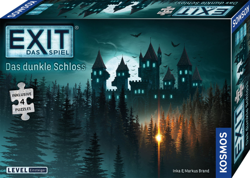 EXIT Spiel + Puzzle - Das dunkle Schloss
