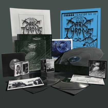 "Darkthrone - Shadows Of Iconoclasm (Boxset, Limited, 6 LPs + 4 Audio cassettes + 7"" Single + DVD + Book)"