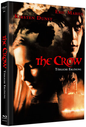 The Crow 3 - Tödliche Erlösung (2000) (Cover B, Limited Edition, Mediabook, Blu-ray + DVD)