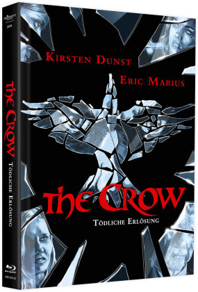 The Crow 3 - Tödliche Erlösung (2000) (Cover A, Limited Edition, Mediabook, Blu-ray + DVD)