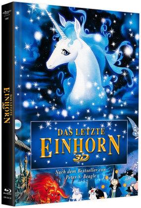 Das letzte Einhorn (1982) (Cover A, Limited Edition, Mediabook, Blu-ray 3D + DVD)