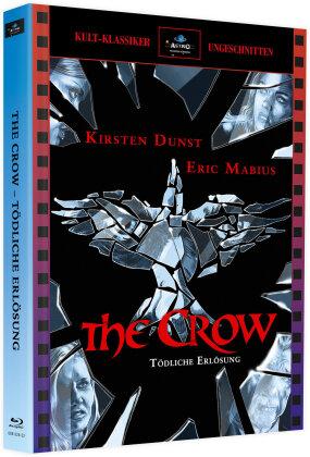 The Crow 3 - Tödliche Erlösung (2000) (Cover Astro, Kult-Klassiker Ungeschnitten, Limited Edition, Mediabook, 2 Blu-rays)