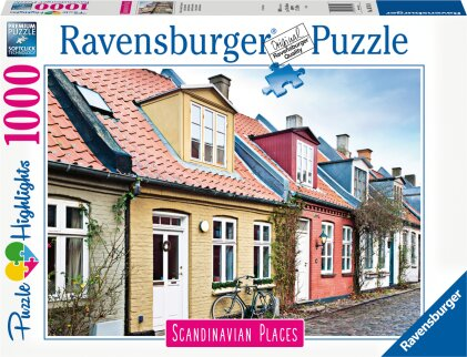 Häuser in Aarhus - Dänemark (Puzzle)