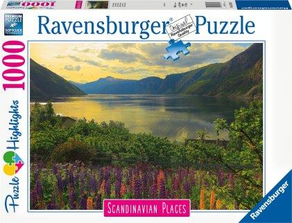 Fjord in Norwegen (Puzzle)