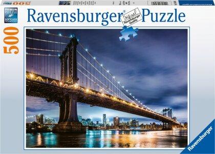 New York - die Stadt, die niemals schläft (Kinderpuzzle)