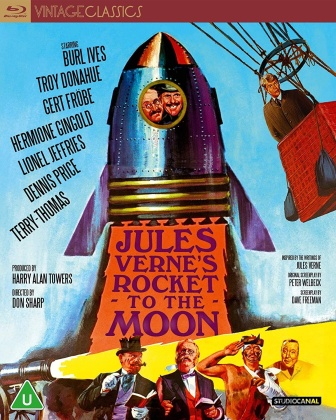 Jules Verne's Rocket To The Moon (1967) (Vintage Classics)