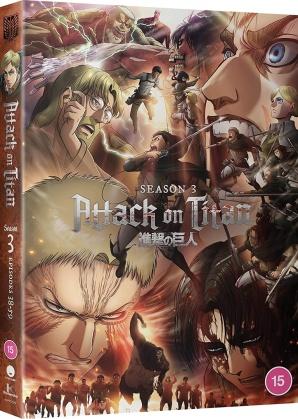 Attack On Titan - Complete Season 3 (4 DVD)
